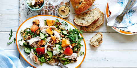 Quick summer chicken and nectarine salad