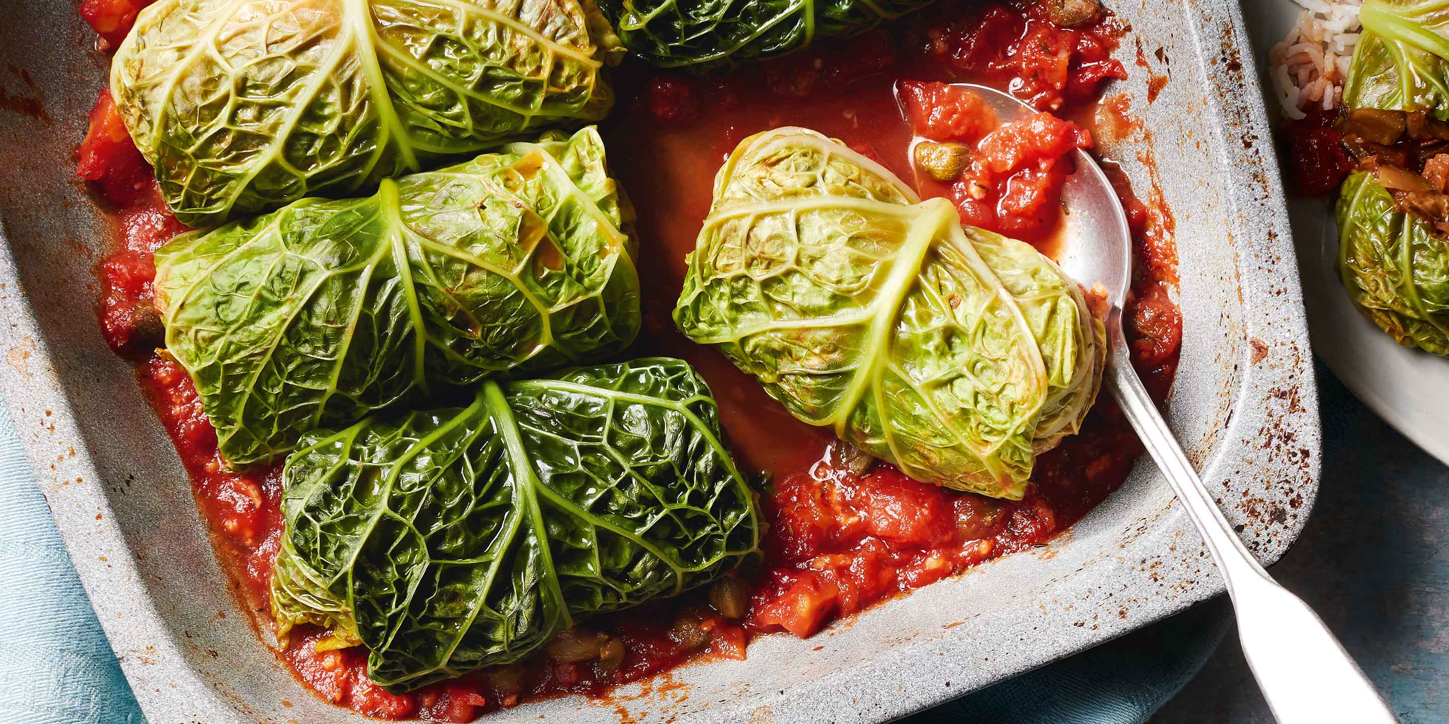 Stuffed Cabbage Leaves Co Op