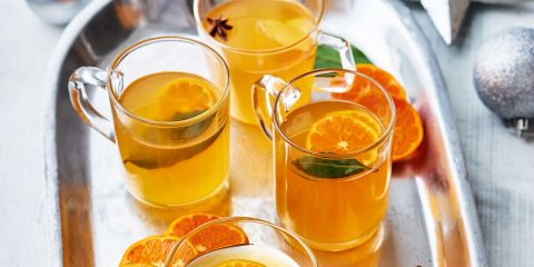 Mulled clementine cider