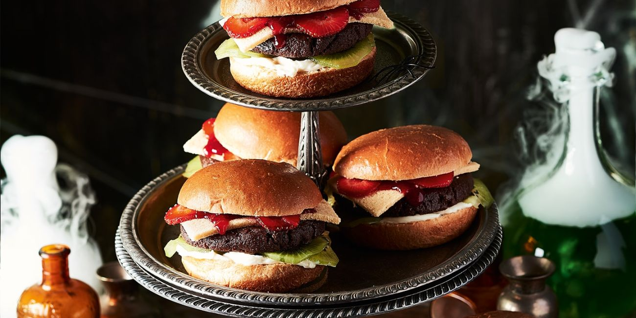 Trick or treat burgers