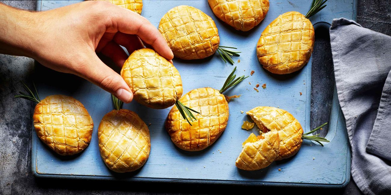 Pineapple biscuits