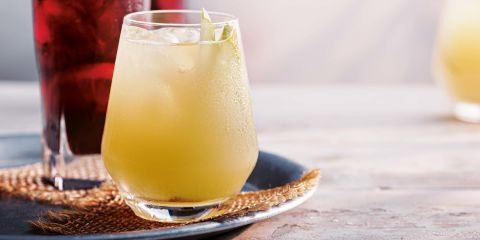 Apples and pears mocktail