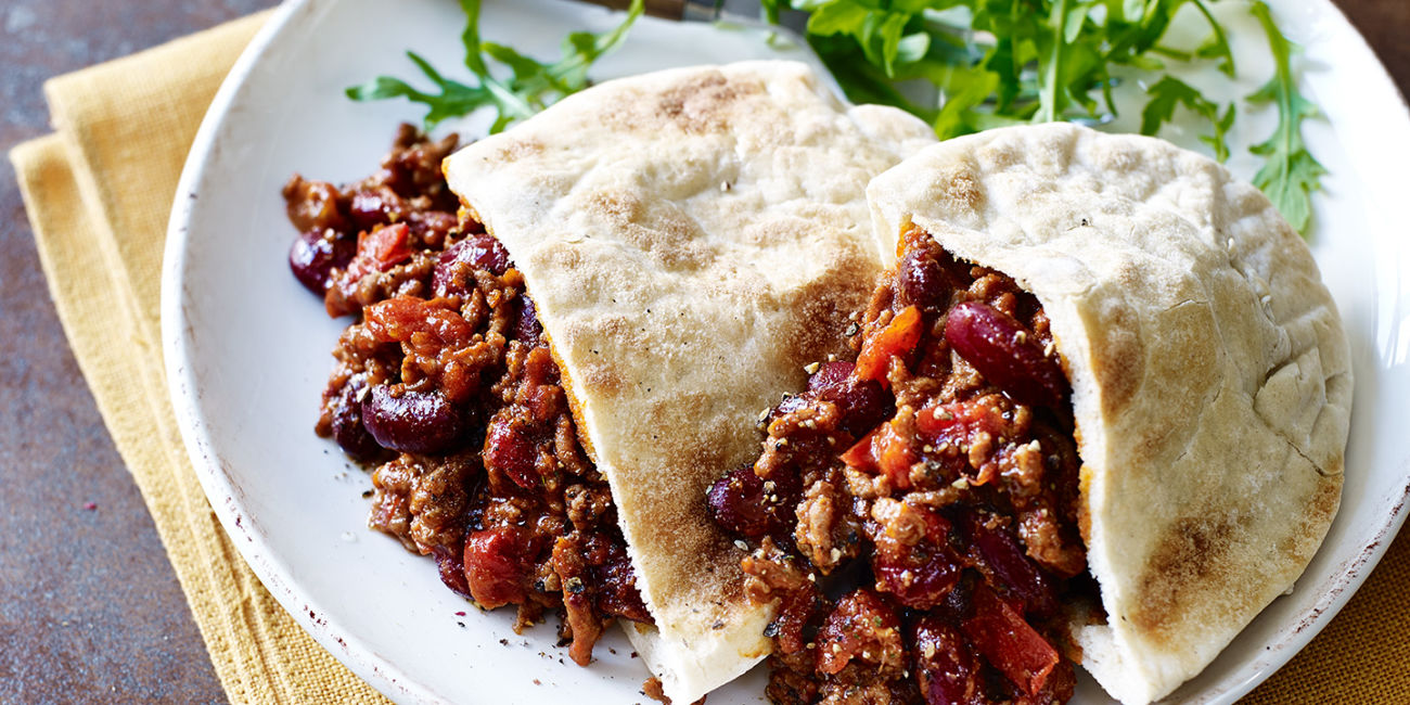 Mexican mince pockets