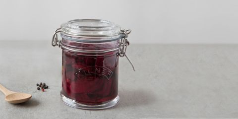 Quick beetroot and ginger pickle