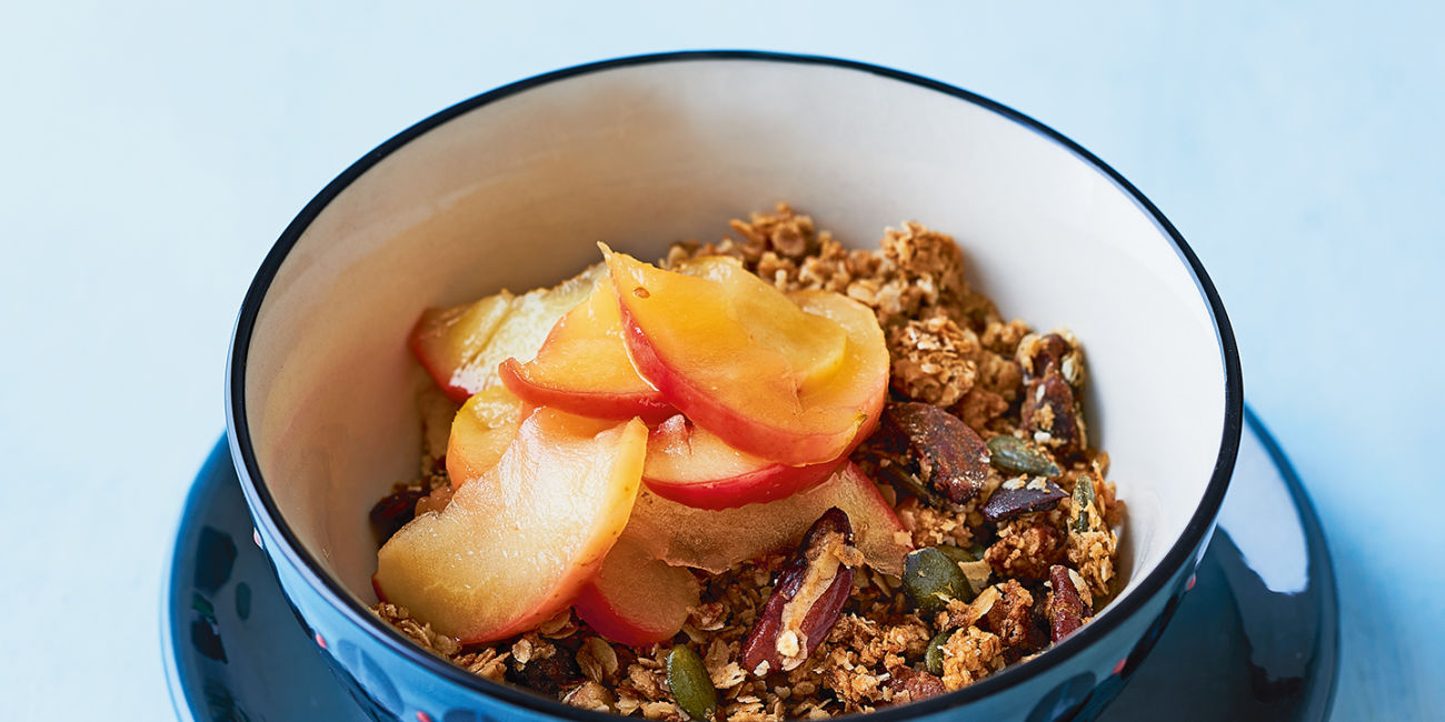 Stewed apple granola