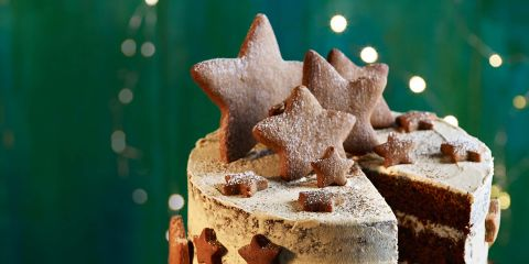 Gingerbread star biscuits