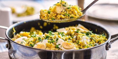 Quick and spicy kedgeree