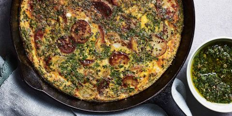 Jersey Royal frittata