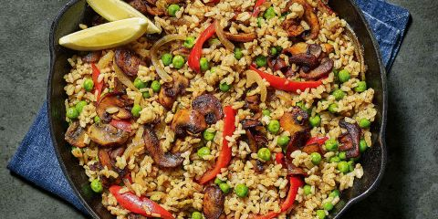 Cheap-eats vegan paella