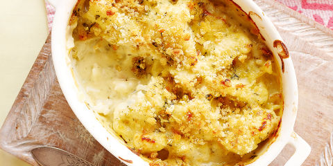 Cauliflower and Stilton gratin