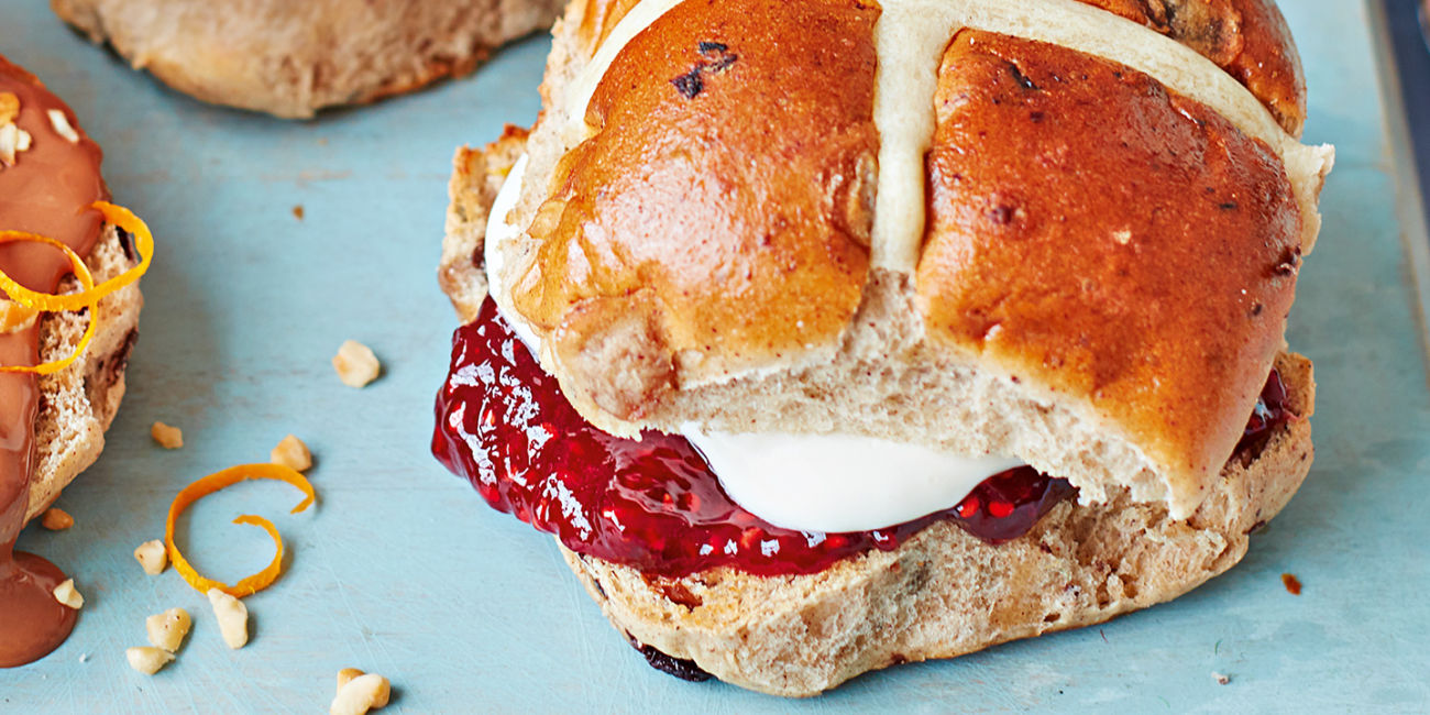 Easter cream tea