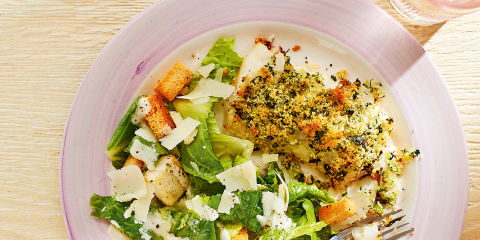 Lime and coriander cod