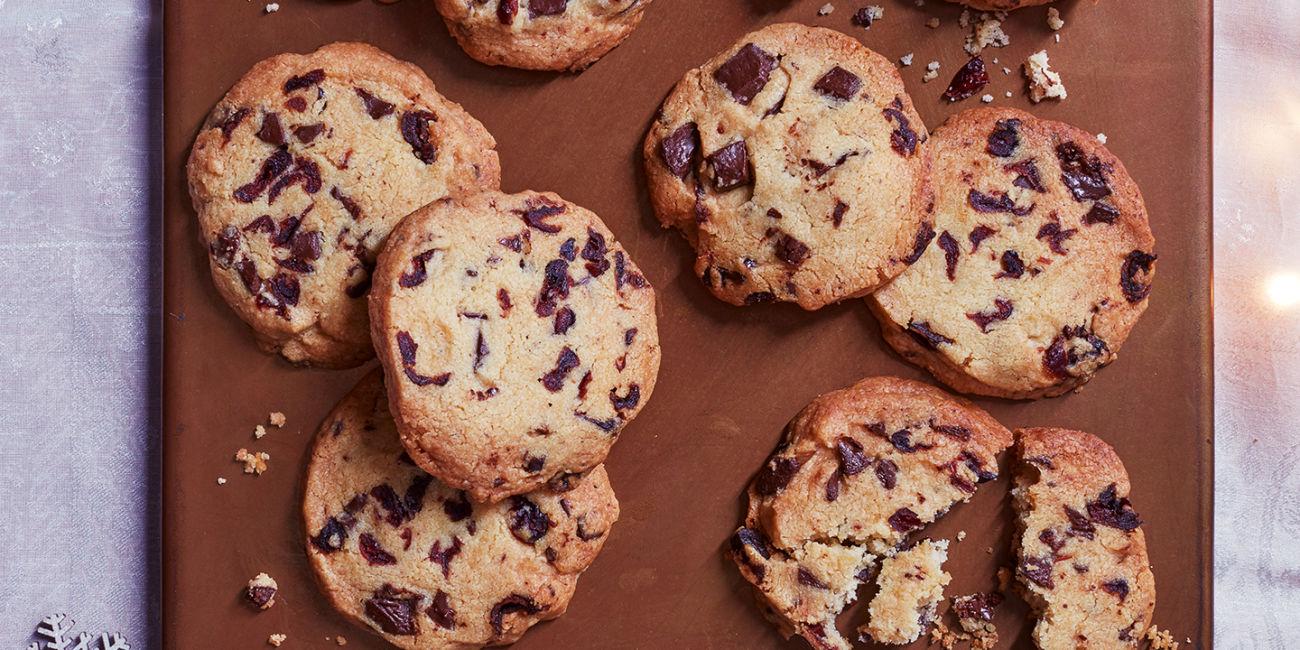 Chocolate Orange Christmas Cookies