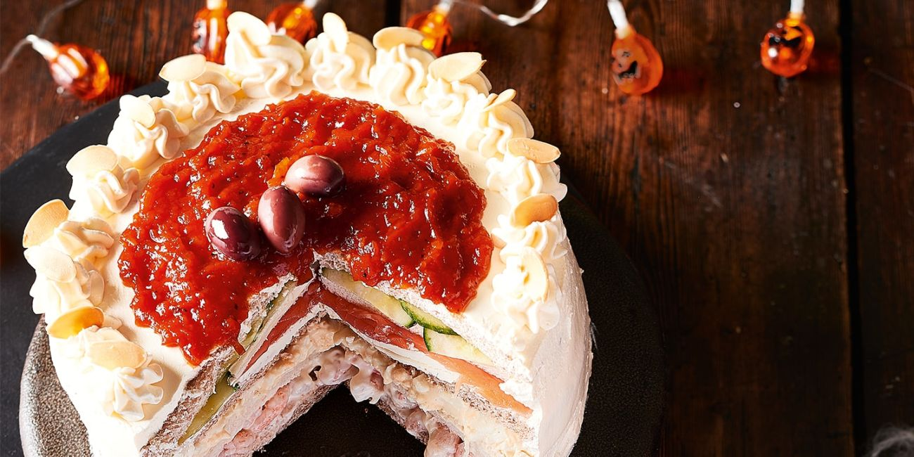 Sandwich gateau