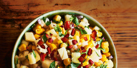 Pineapple and sweetcorn salsa