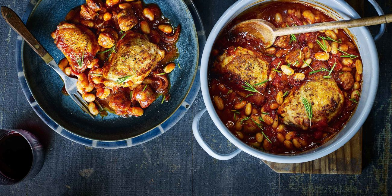 Cheat's cassoulet