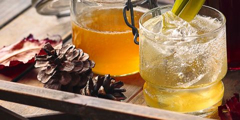 Easy pineapple-peel syrup