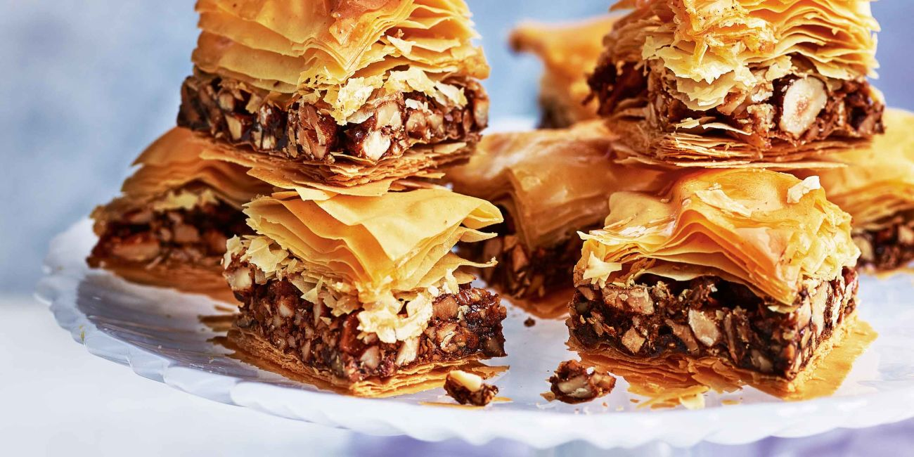 Cheat's baklava