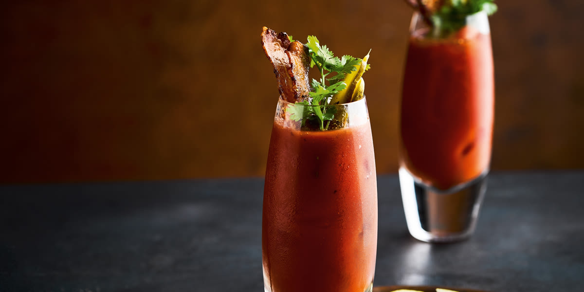 Bacon Bourbon Maple Mary