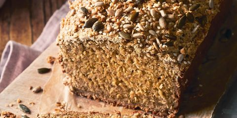 Porridge oat bread