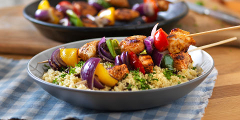Chicken kebabs