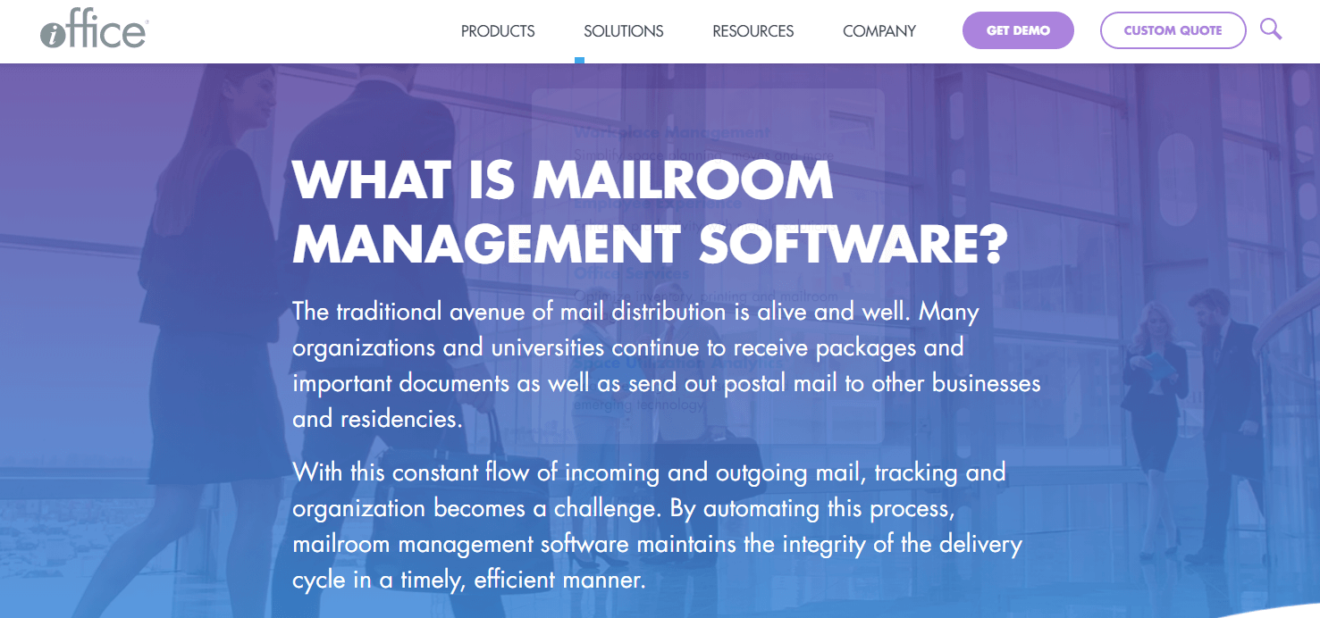 iOFFICE: Digital Mailroom Management Software