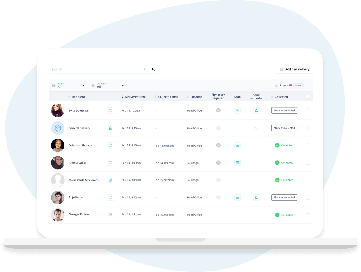 SwipedOn: Easy to Use Mailroom Management Software