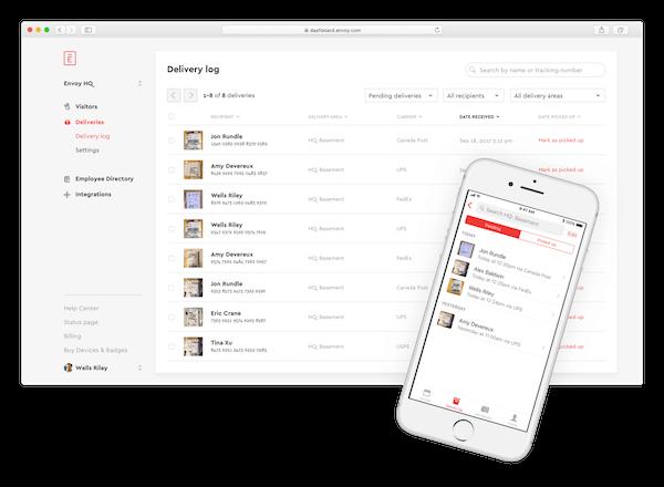 Envoy Deliveries: Free Mailroom Management Software