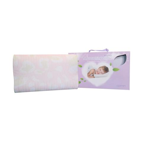 Mumsandbabes - Comfi Bantal Bayi Breathing Pillow Teen Pink