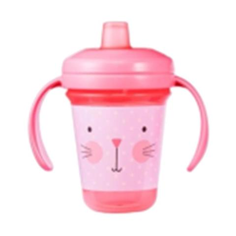 Mumsandbabes - The First Years Y6421A2 / 6434PK Stackkable Soft Spout Train Peralatan Makan Anak [7oz]