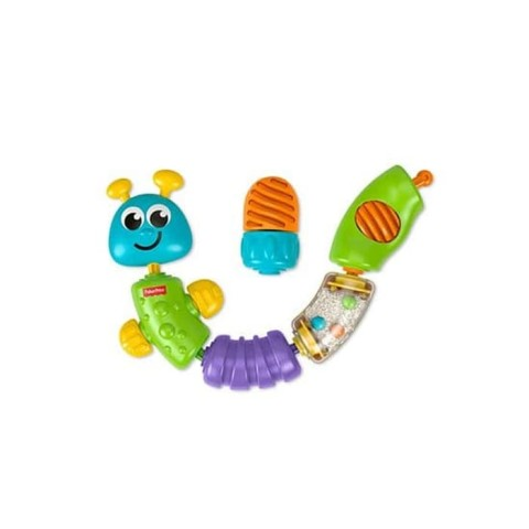 Mumsandbabes - Fisher Price W9834 Snap Lock Caterpillar