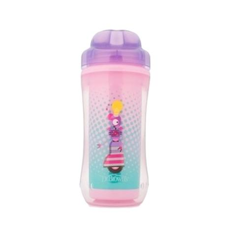 Mumsandbabes - Dr. Brown's Spoutless Insulated Cup 300ml - Purple Purple