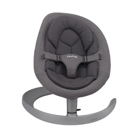 Mumsandbabes - Nuna Leaf Grow Baby Bouncer Granite