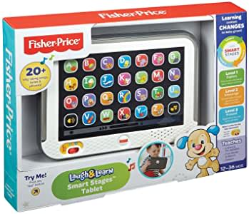 Mumsandbabes - FISHER PRICE CDG33 LNL SS TABLET GREY