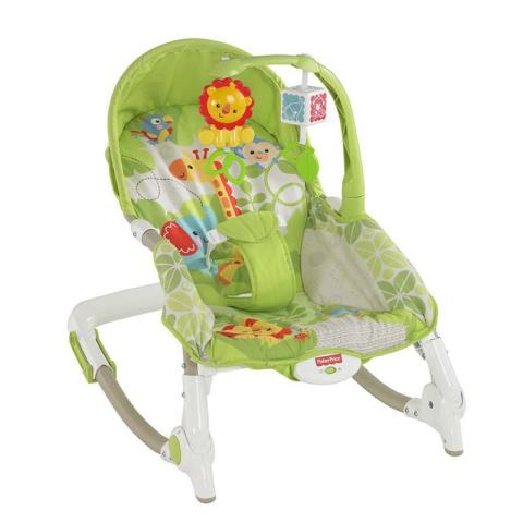 Mumsandbabes - Fisher Price - BCD30 FP BG Newborn To Toddler Rocker Asia