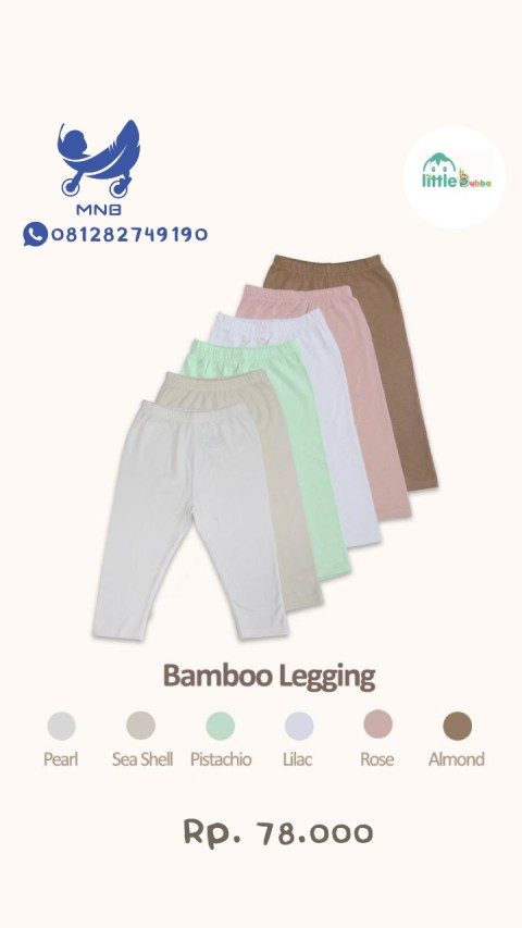Mumsandbabes - Little Bubba Bamboo Legging