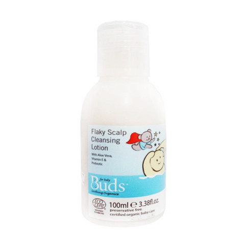 Mumsandbabes -  Buds Organics Flaky Sclap Cleansing Lotion [100 mL]