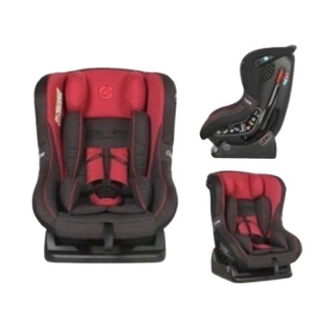 Mumsandbabes - Oyster OY-363-RT Aries Carseat - Red Tungsten Grey [0-4 tahun]