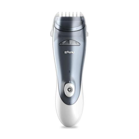 Mumsandbabes - ENSSU Automatic Inhaling Hair Clipper Black Silver