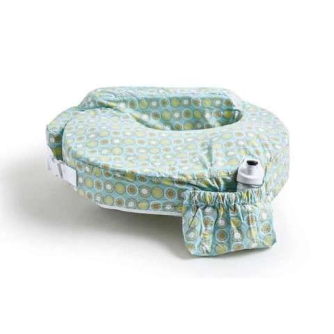Mumsandbabes -  My Brest Friend Original Nursing Pillow Green Sunburst Bantal Menyusui