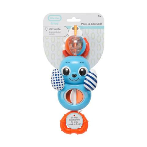 Mumsandbabes - Little Tikes Peek-a-Boo Seal - Blue