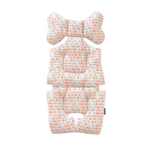 Mumsandbabes - Borny Bny108 Pastel Pencil Stroller Liner - Orange