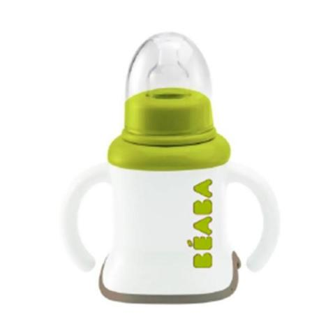 Mumsandbabes - Beaba Ellipse Evolution 3in1 Training Cup - Neon 913384
