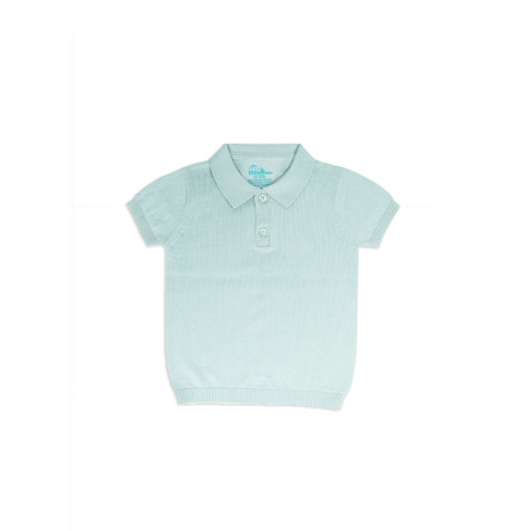 Mumsandbabes - Little Bubba Oliver Knit Shirt - Pistachio
