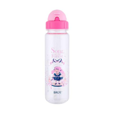 Mumsandbabes - Bros Crystal Plus Straw Botol Minum - Song Of The Forest [550 mL]