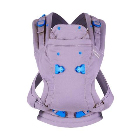 Mumsandbabes - We Made Me Pao Papoose 3in1 Baby Carrier - Lavender