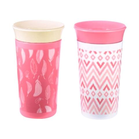 Mumsandbabes - The First Years Y6420A2 / 6431PP Simply Spoutless Cup [9oz/ 2 Pcs]