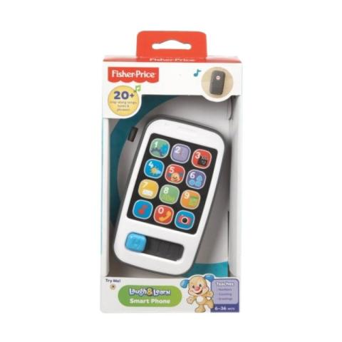 Mumsandbabes - Fisher Price Smart Phone Mainan Bayi