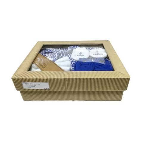 Mumsandbabes - Cribcot NC Bee Hives Gift Set - Electrick Blue