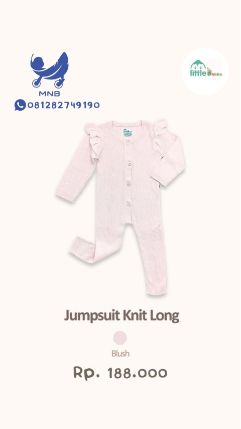 Mumsandbabes - Little Bubba Jumpsuit Knit Long Girl